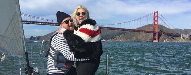 US-Sängerin Elle King mit ihrem damaligen Freund, Februar 2016