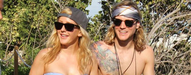Ellie Goulding und ihr Ex-Freund Dougie Poynter