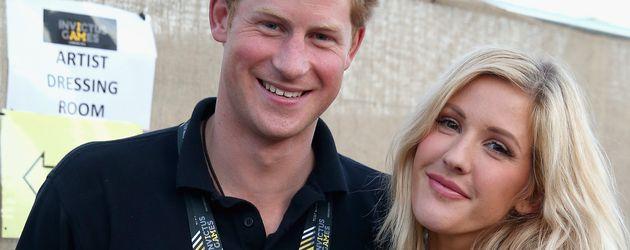Prinz Harry und Ellie Goulding