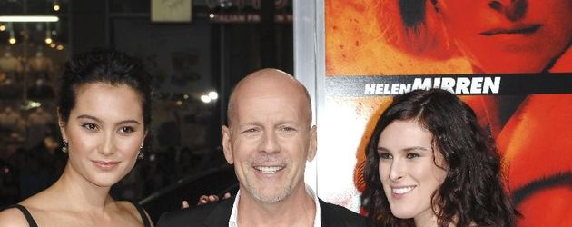 Rumer Willis und Bruce Willis