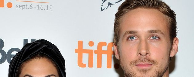 Eva Mendes und Ryan Gosling im September 2011