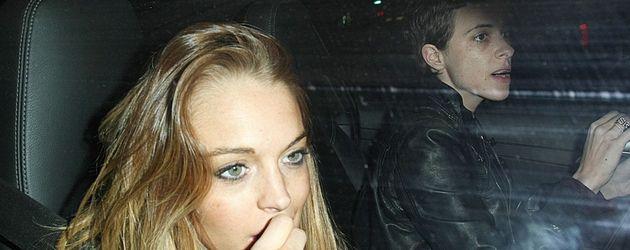 Lindsay Lohan und Samantha Ronson