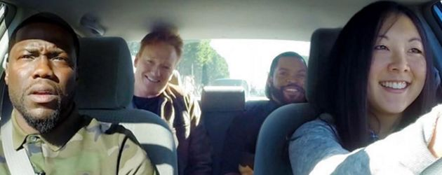Kevin Hart, Ice Cube und Conan O'Brien