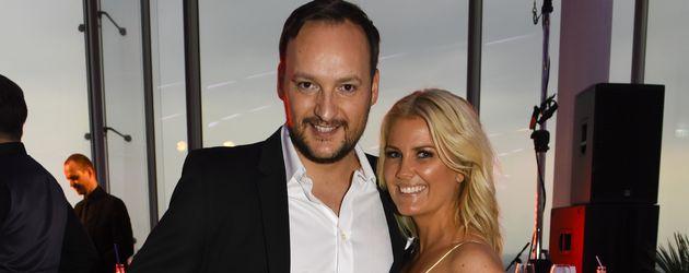 Felix Moese und Jennifer Knäble beim Kick Media Sommerfest