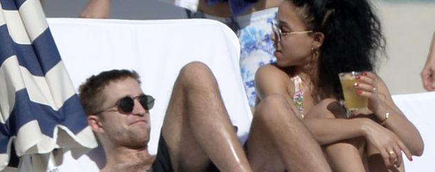 Robert Pattinson und FKA Twigs