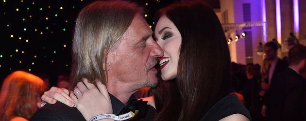 Frank Otto und Nathalie Volk bei der ECHO-Aftershow-Party