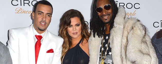 Khloe Kardashian, Snoop Dogg und French Montana