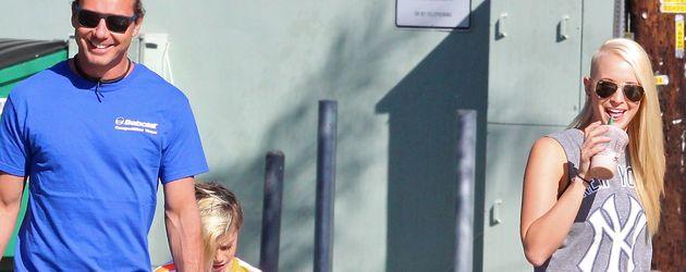 Gavin Rossdale mit Nanny Mindy Mann