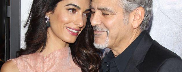 George Clooney und Amal Alamuddin