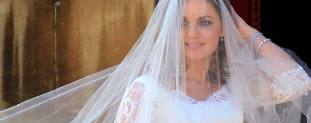 Geri Halliwell bei ihrer Hochzeit im Mai 2015