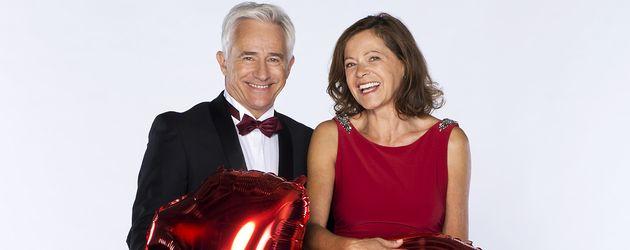 Gerry Hungbauer und Angela Roy