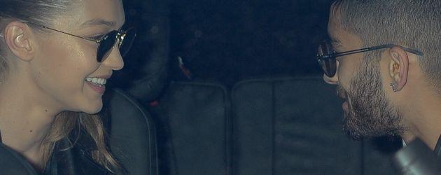 Gigi Hadid und Zayn Malik turteln im Auto