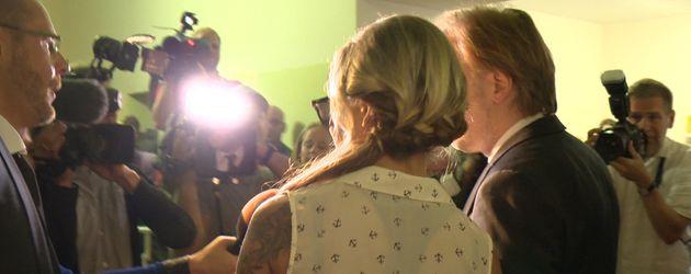 Gina-Lisa im Scheinwerferlicht kurz vor ihrem Prozess