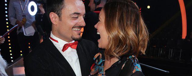 "Giovanni Zarrella und Jana Ina Zarella in der 6. Folge von ""Let's Dance"" 2017"