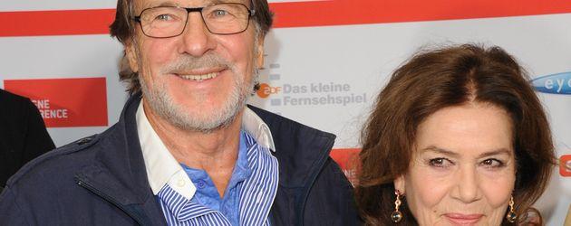 Götz George und Hannelore Elsner bei der Premiere von die Besondere Schwere der Schuld in Köln 2014