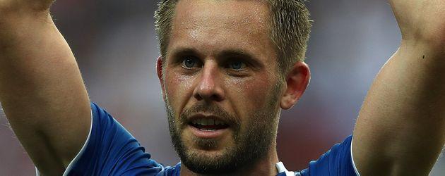 Gylfi Sigurðsson beim EM-Spiel gegen Österreich
