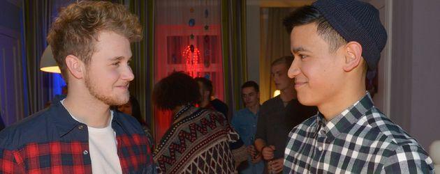 Felix van Deventer und David Meier