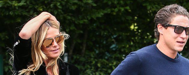 Heidi Klum und Vito Schnabel beim Besuch in Wimbledon