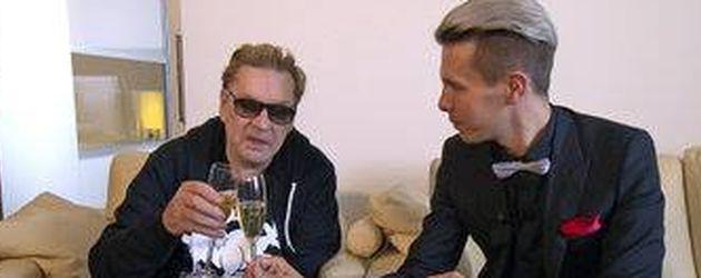 Florian Wess und Helmut Berger