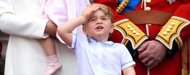 Herzogin Kate, Prinz William, George und Charlotte feiern den Geburtstag der Queen 2016