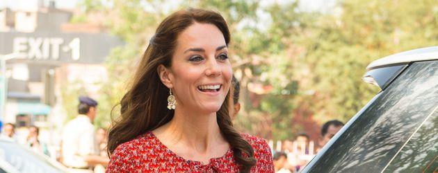 Herzogin Kate während der Indienreise im Frühjahr 2016