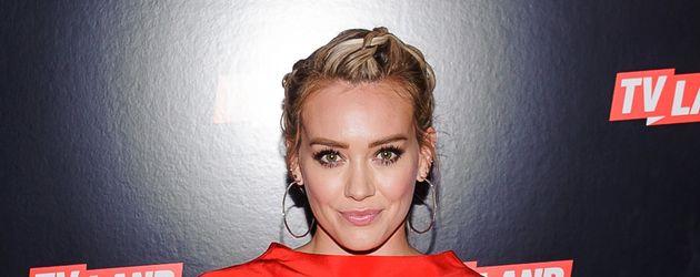 Hilary Duff auf einer Premiere