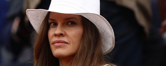 Hilary Swank bei den French Opens in Paris