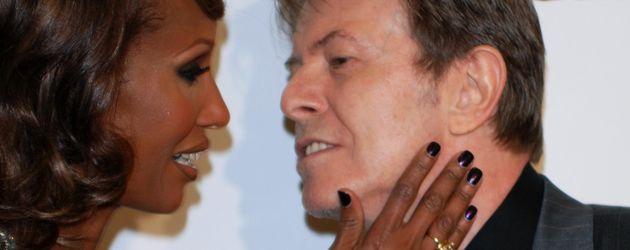 David Bowie und Iman Abdulmajid