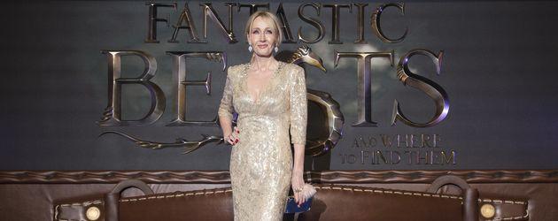 """J.K. Rowling bei der """"Fantastic Beasts""""-Premiere in London"""