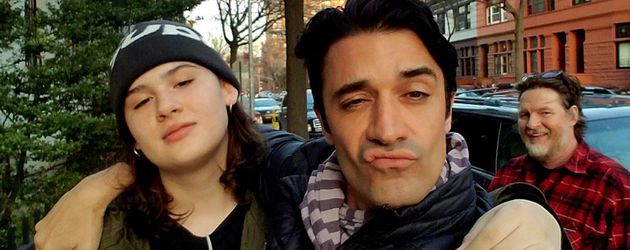 Jade Logue und Gilles Marini in Brooklyn
