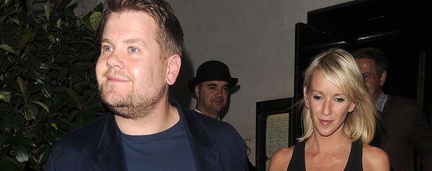 James Corden mit seiner Ehefrau Julia