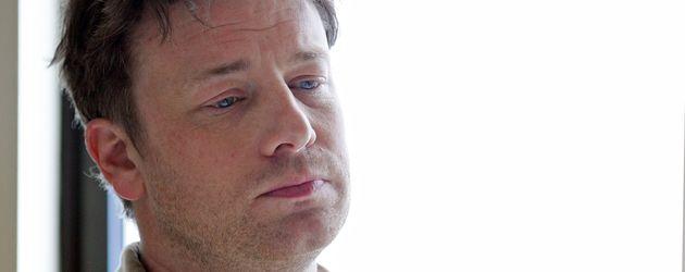 Jamie Oliver vor der Bekanntgabe einer bundesweiten Partnerschaft gegen Fettleibigkeit