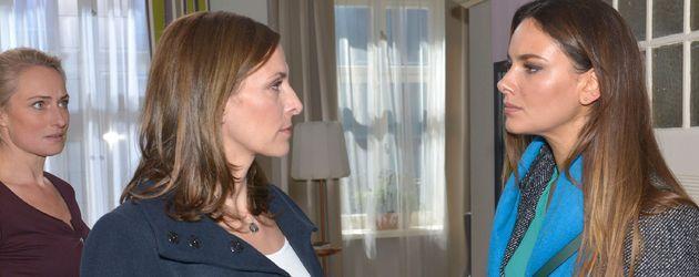 Janina Uhse und Ulrike Frank
