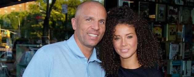 Jason Kidd mit seiner Frau Porschla