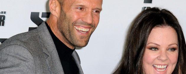 Melissa McCarthy und Jason Statham