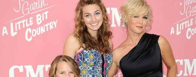 Jennie Garth mit ihren Kindern Luca Bell, Lola Ray und Fiona Eve bei ihrer Geburtstagsfeier