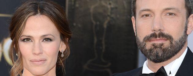 Ben Affleck und Jennifer Garner auf dem roten Teppich