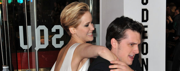 Jennifer Lawrence und Josh Hutcherson