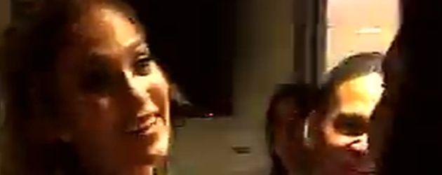 Jennifer Lopez mit Kim Kardashian