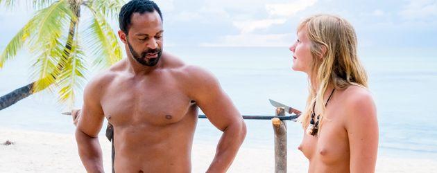 """Jesse und Marlena bei """"Adam sucht Eva - Promis im Paradies"""""""
