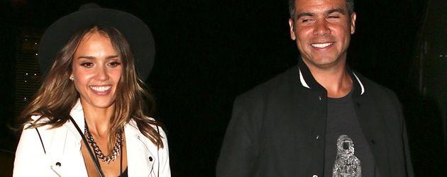 Jessica Alba und Cash Warren