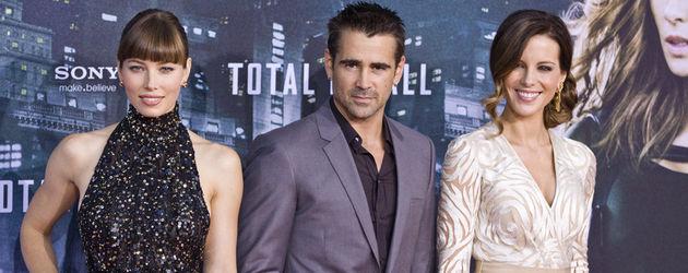 Jessica Biel, Colin Farrell und Kate Beckinsale
