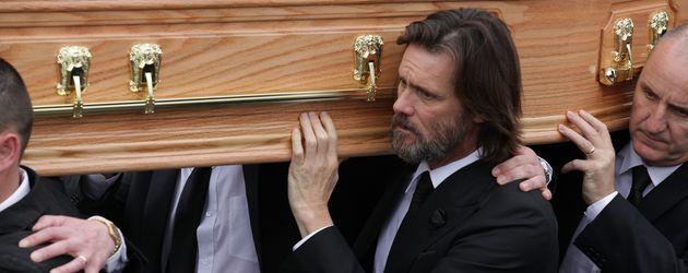 Jim Carrey bei der Beerdigung von Cathriona White im Oktober 2015