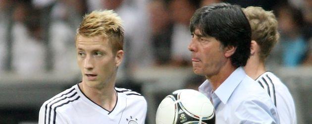 Marco Reus und Joachim Löw