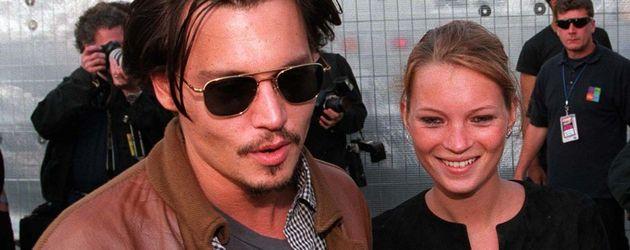 Johnny Depp und Kate Moss