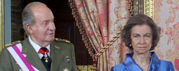 Königin Sofia und König Juan Carlos