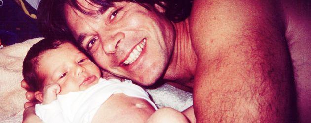 Jürgen Drews mit Joelina Drews als Baby