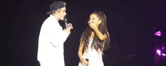 Justin Bieber und Ariana Grande