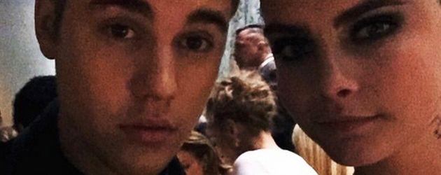 Justin Bieber und Cara Delevingne