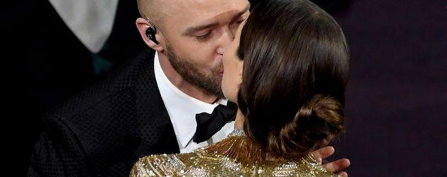 Justin Timberlake und Jessica Biel bei den Oscars 2017